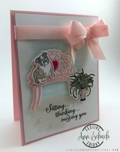 Stampin Up card made by Festive Friday Challenge designer Ann Schach. #festivefridaychallenge #FF0007