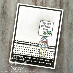 #FF0017, Festive Friday Challenge Designer- Nicole Watt, Stampin Up, World Card Making Day, Washi Tape