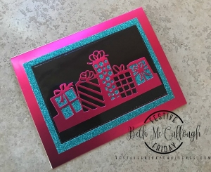 Festive Friday Challenge designer-Beth McCullough, Stampin Up, Birthday #FF0023