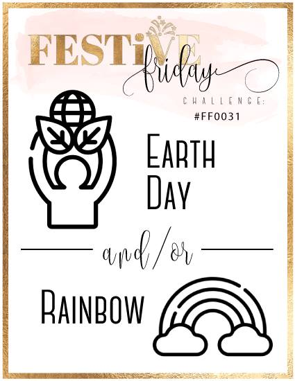 #festivefridaychallenge, #fF0031, Earth Day, Rainbow