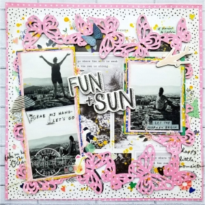 #FF0036, Festive Friday Challenge Designer- Miranda Webber, Summer