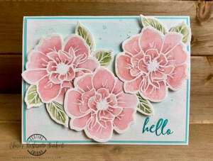 #FF0038, Festive Friday Designer- Sharon Hashimoto-Burkert , watercolor