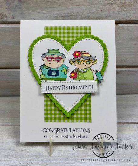 #FF0040, Festive Friday Designer- Sharon Hashimoto Burkert, Senior Citizen's Day